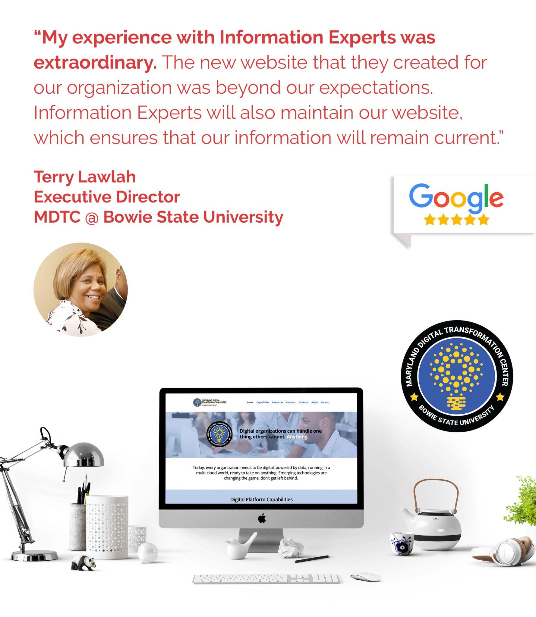 MDTC Testimonial