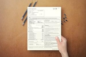 Sprint Client Forms